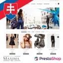Slovenčina pre PrestaShop šablónu Maxima