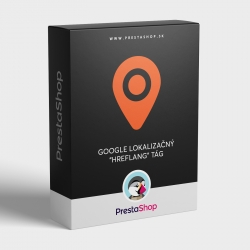 """PrestaShop modul Google lokalizačný """"hreflang"""" tág"""