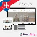 Slovenčina pre PrestaShop šablónu Bazien