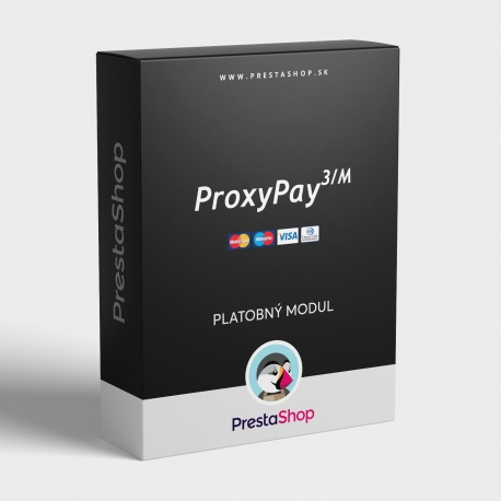 PrestaShop modul ProxyPay pre platby kartou