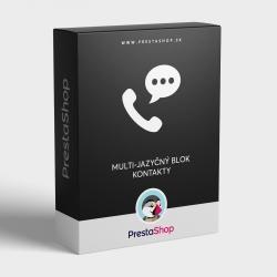 Modul: Multi-jazyčný blok - Kontakty