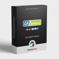 Modul GP webpay pre PrestaShop