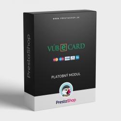 PrestaShop modul eCard VÚB pre platby kartou