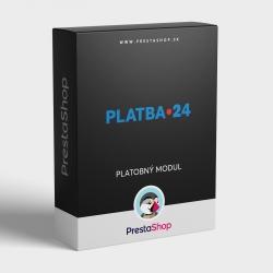 PLATBA 24 pre PrestaShop