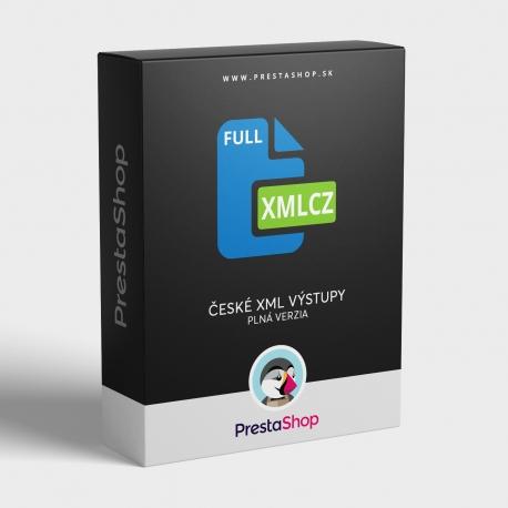 XML Cz výstupy (Full) pre porovnávače cien (PSXMLCZF)