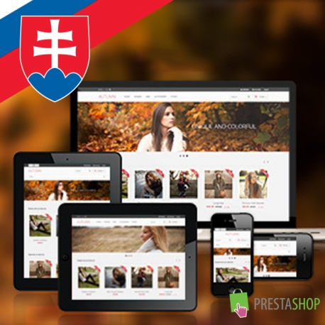 Slovenčina pre PrestaShop šablónu Autumn