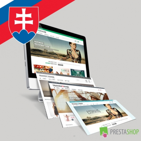 Slovenčina pre PrestaShop šablónu Transformer (SKTRNSF)