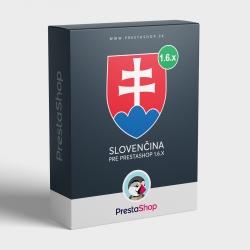 Slovenčina pre PrestaShop 1.6.x