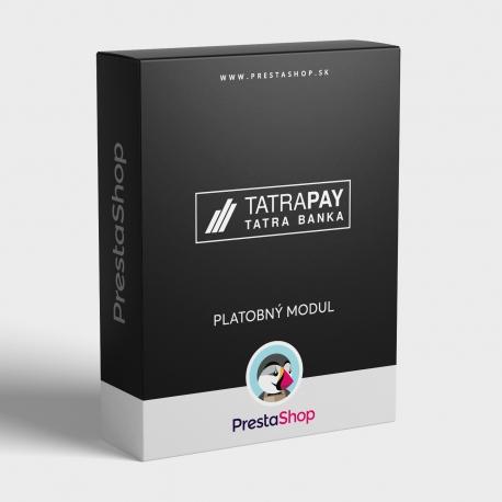 Platobný modul TatraPay pre PrestaShop