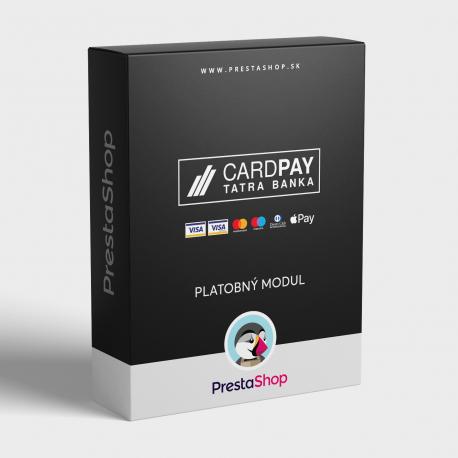 Platobný modul CardPay pre PrestaShop