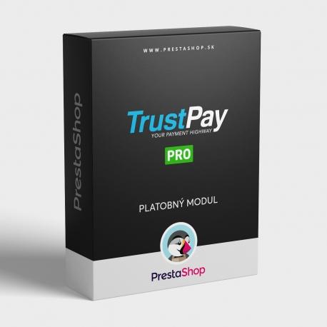 Platobný modul TrustPay pre PrestaShop