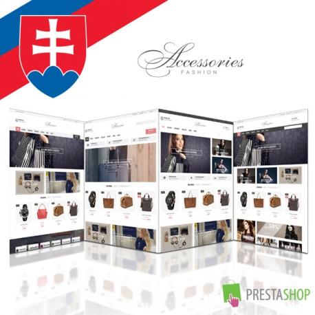 Slovenčina pre PrestaShop šablónu Accessories (SKACCESS)