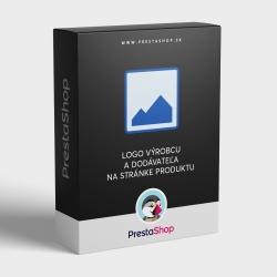 Logo výrobcu a dodávateľa na stránke produktu