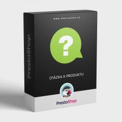 Modul Otázka k produktu pre PrestaShop