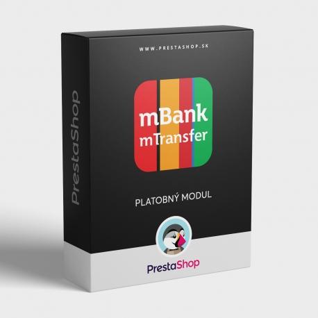 Modul mTransfer (mBank) pre PrestaShop