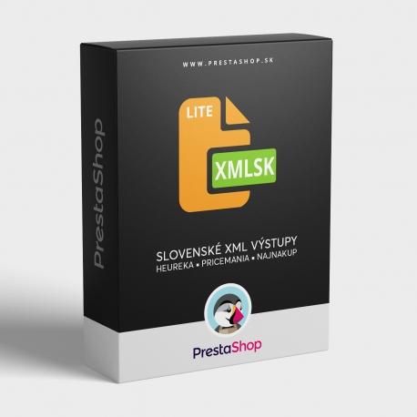 XML Sk výstupy (Lite) pre porovnávače cien (PSXMLSKL)