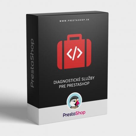 Diagnostické služby pre PrestaShop 1.2.x - 1.6.x