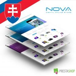 Slovenčina pre PrestaShop šablónu SNS Nova