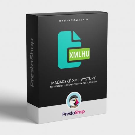 XML HU výstupy pre porovnávače cien