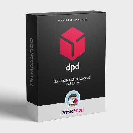 Elektronické podávanie zásielok DPD (PSDPD)