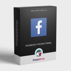 Modul: Facebook vysúvací panel pre PrestaShop