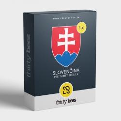 Slovenčina pre thirty bees