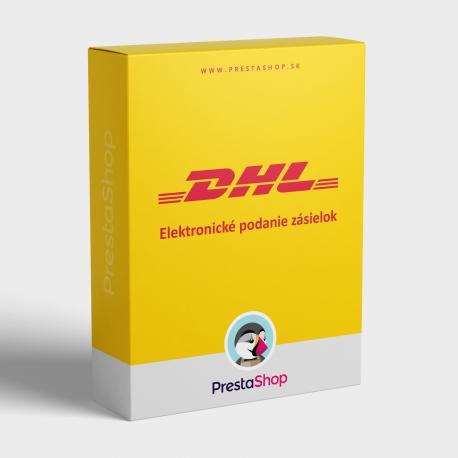 Elektronické podávanie zásielok DHL (PSDHL)
