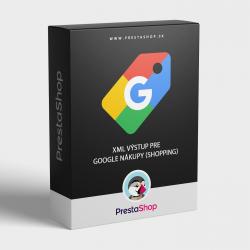 Google Shopping XML výstup