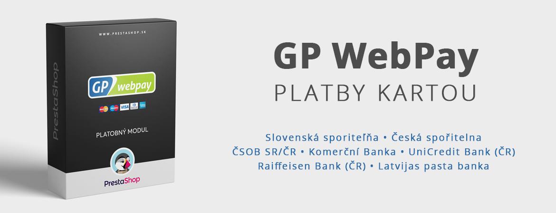 GP WebPay (ČSOB SK / ČR, Komerční Banka, UniCredit a Raiffeisen Bank)
