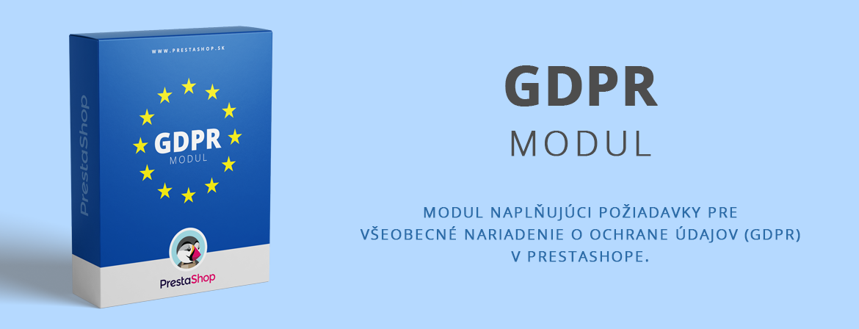 Modul: GDPR pre PrestaShop